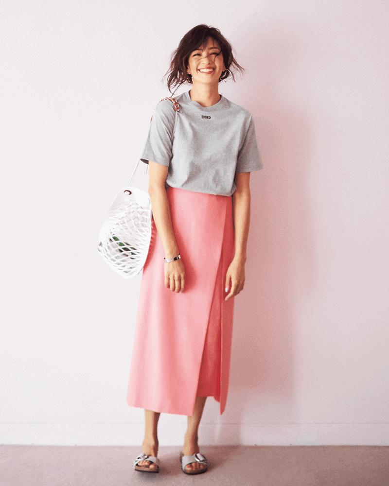 【今日の服装】カジュアルコーデに女性らしさをプラスするには?【アラサー女子】