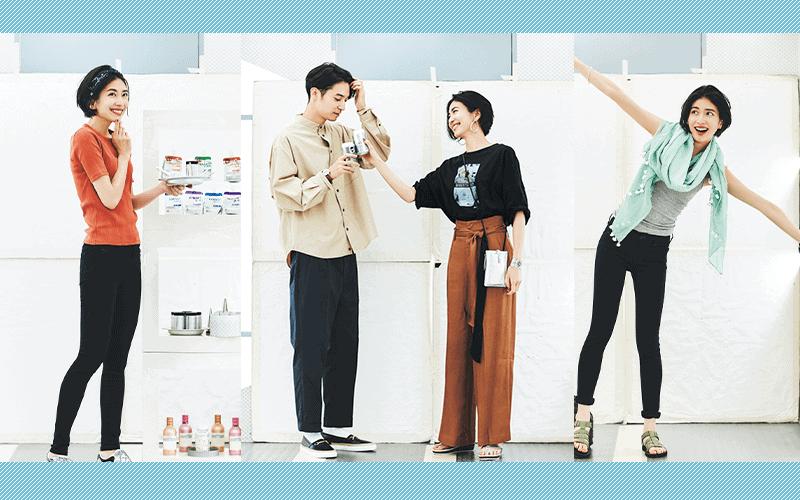 ミニマム10着で大人カジュアルな7月の着回しDiary【7/11~20のコーデまとめ】