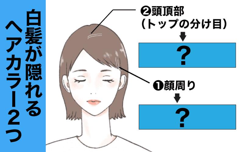アラサー女子の「白髪が目立たないヘアカラー」タイプ別のおすすめ