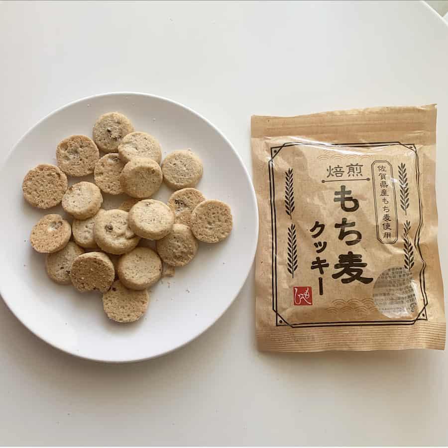大麦の一種で食物繊維が白米の約