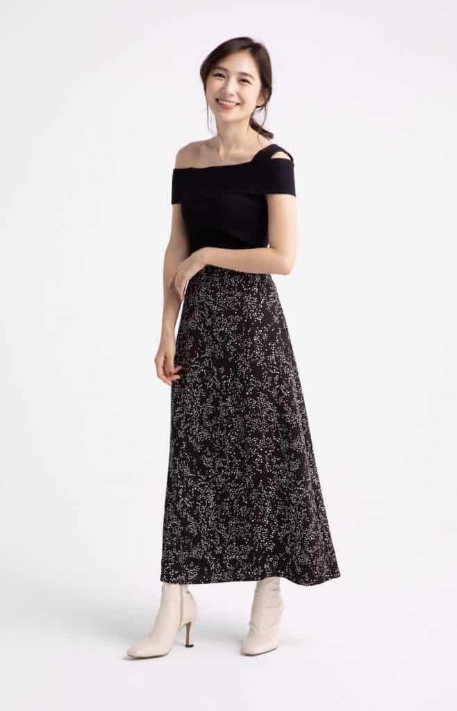 Q. 秋まで使えるスカートの選