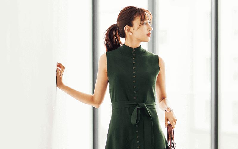 【今日の服装】オフィスでも映える「ワンピース」コーデって?【アラサー女子】
