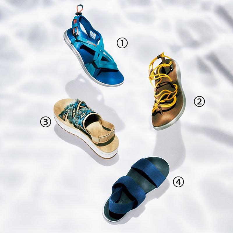 真夏に最適なスニーカー&スポサン16選「❸歩きやすいスポサン」