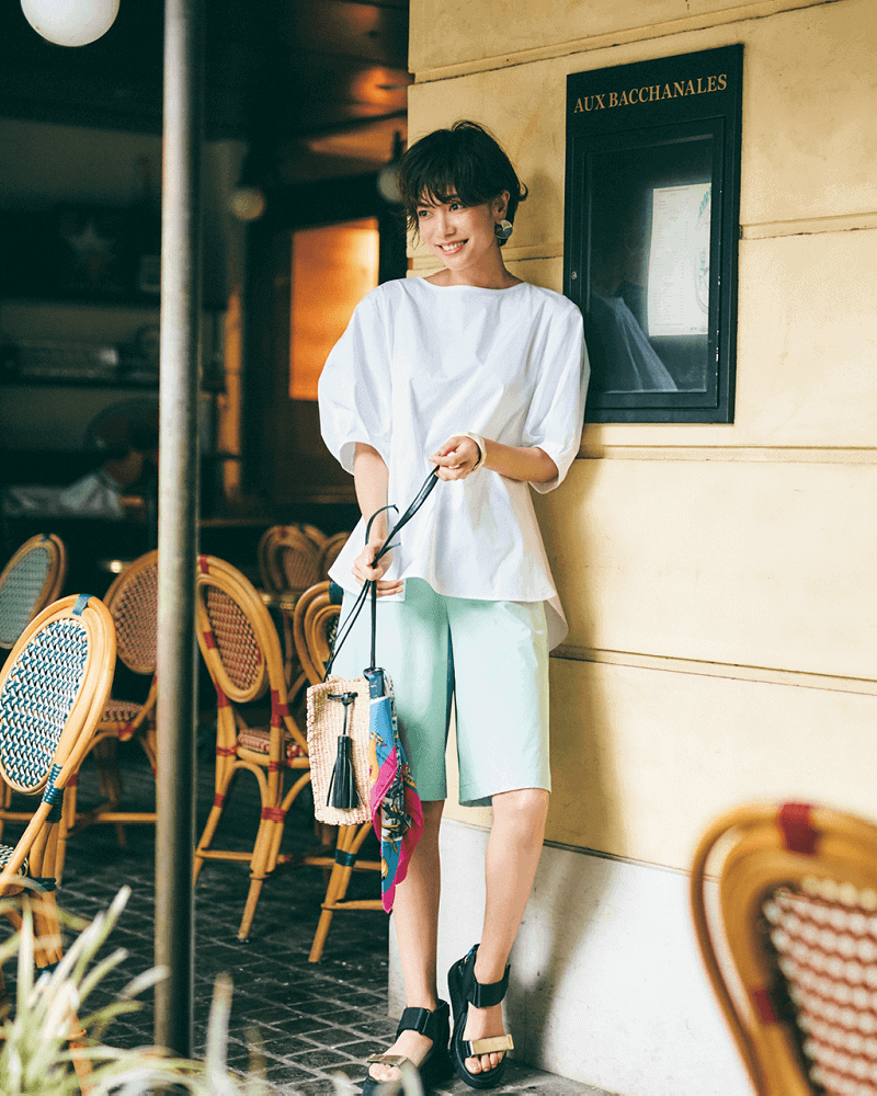 【今日の服装】イタく見えない「ショーパンコーデ」って?【アラサー女子】