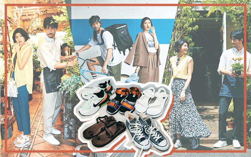 スニーカーとスポサンで毎日オシャレな8月の着回しDiary【8/1~10のコーデまとめ】