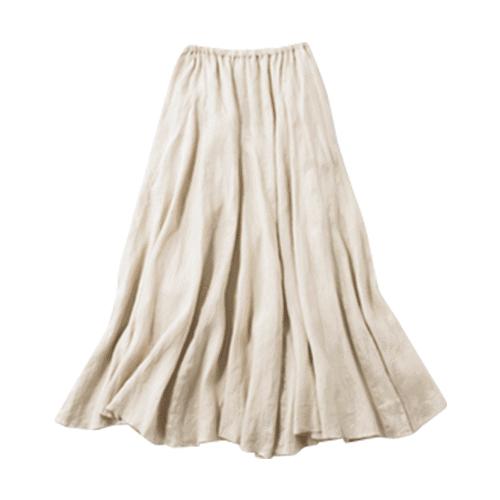 【J】Aラインスカート 夏らし