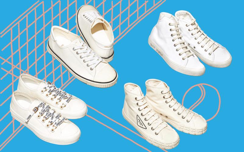 絶対に損しない 「人気ブランドの白スニーカー」カタログ【キャンバス素材4選】