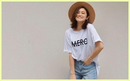 夏の定番、白Tシャツとデニムコーデでスタイルよく見せるには?