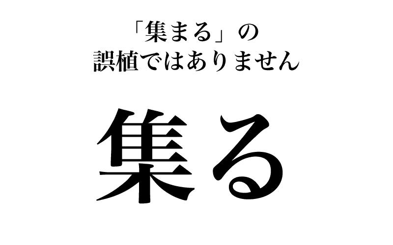 「集る」「与る」…実は知らない漢字の読み方3選【ベテラン国語教師が解説】