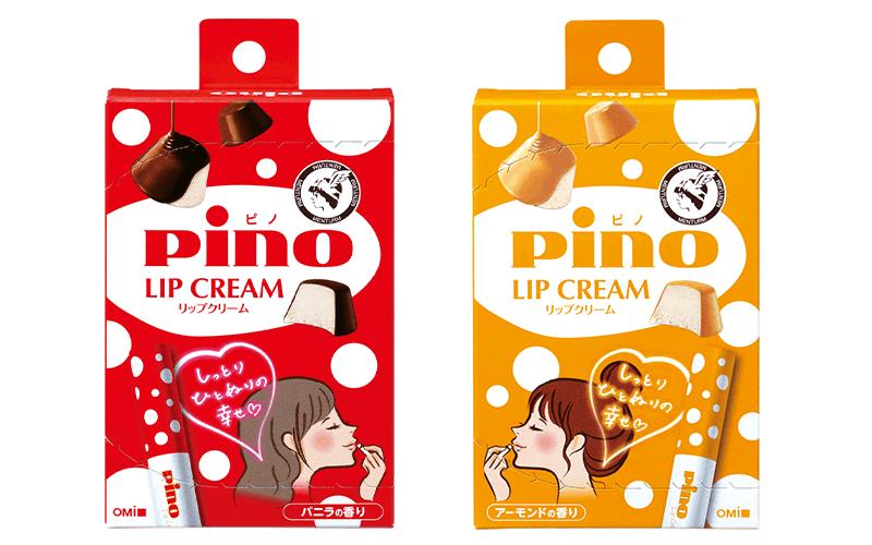 「ピノ」の香りのリップクリーム!?【「メンターム」とのコラボ第3弾は待望のアーモンド風味】