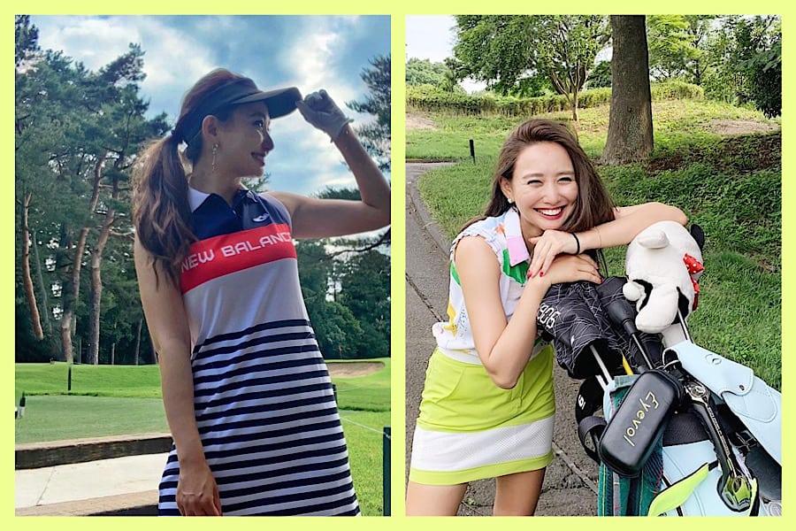 美女ゴルファーおすすめ!可愛くて映えるゴルフウェア【①CLASSY.リーダーズ李 雨瀟さん】