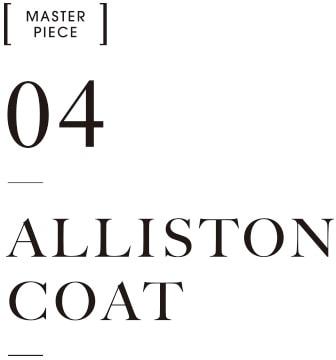 MASTER PIECE04 ALLISTON COAT