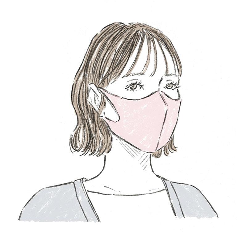 「マスク」の色別!最新オシャレ配色コーデ4選