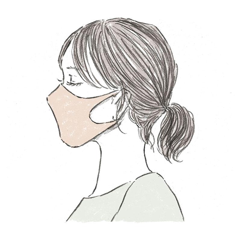 コロナの影響で、マスクは今や生