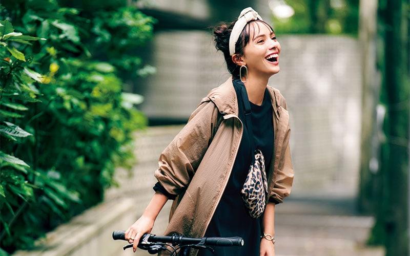 【自転車に乗る日】アラサー女子向けおすすめコーデ3選【スポーツチャリ編】