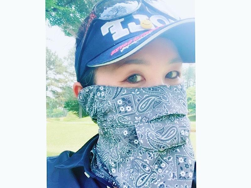 美女ゴルファーおすすめ!絶対焼かない覆面ゴルファー【⑤濱口眞夕子さん】