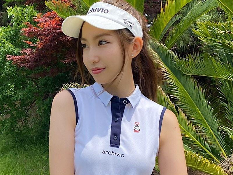 美女ゴルファーおすすめ!ゴルフ専用ポニテとノーファンデメーク【④中島亜莉沙さん】