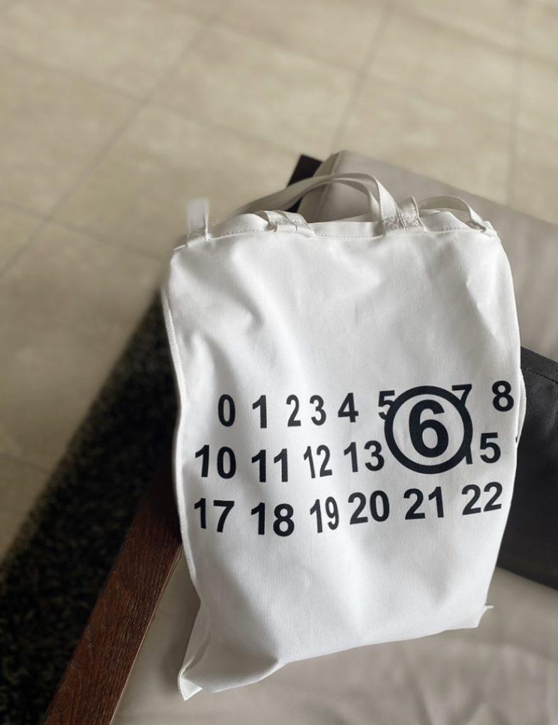 この秋、登場率ナンバー1【マルジェラ】の3wayトートバッグ