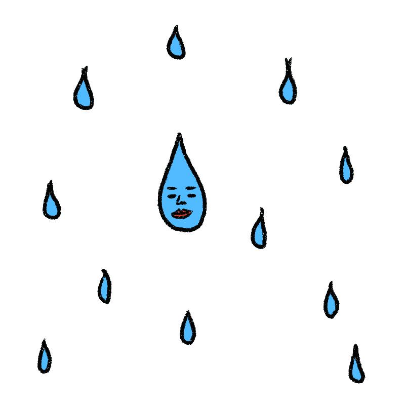相変わらず飄々と上手にこなす雨