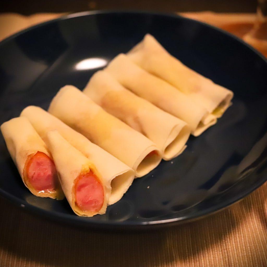 【作り方】 1.鶏むね肉はフォ