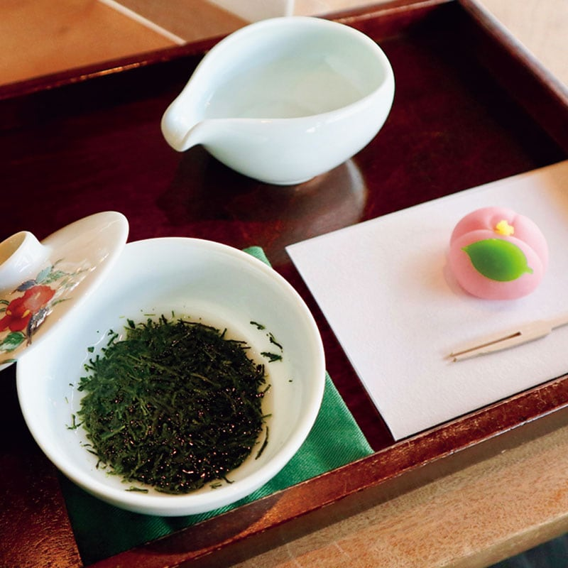 茶の文化館では、茶の歴史や文化を学ぶこともできます