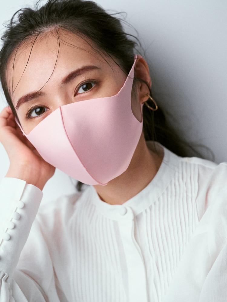 【マスク別】「暗い人に見えない」秋冬アラサーメーク【ピンク編】