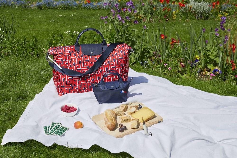 ロンシャンの新作!フランス建国記念日を祝うトリコロールカラーのバッグが可愛い♡