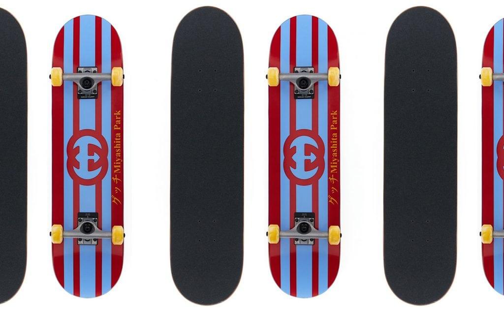 【グッチ】話題のスケートボードも! グッチ渋谷ミヤシタパーク1周年限定アイテムに注目。